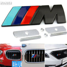 NEW M Power Car Front Grille Badge 3D Logo Emblem Fit For BMW M3 M5 M6