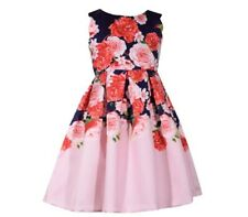 RINGAROSIES TED Floral Girls Dress Age 5 Pink Floral Summer Dress NEW