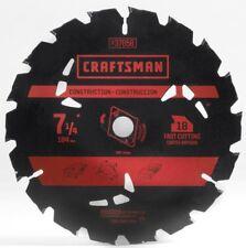 Craftsman Circular CM 7 1/4 Inch -18T 18 Carbide Teeth Saw Blades