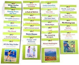 DRA2+ Developmental Reading Assessment Grades 4-8 Set of 26 Readers