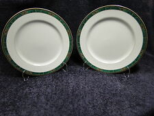 """TWO Wedgwood Fairfield Dinner Plates Embassy Collection 11"""" Set of 2 EXCELLENT"""
