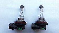 2 x H11 12V 55W  4500k Halogen  Car Headlight Globes Bulbs