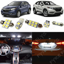 10x White LED lights interior package kit for 2016 & Up Honda HR-V HV4W