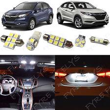 10x White LED lights interior package kit for 2016 & Up Honda HR-V HV4W