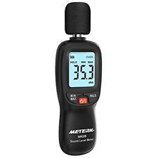 Digital Sound Level Meter, Range 30-130dB(A) Noise Volume Measuring Instrument