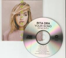 RITA ORA 'YOUR SONG' THE REMIXES - 8 MIX CD PROMO