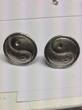 Yin And Yang 2 PP-G67 Fine English Pewter Cufflinks