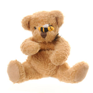 Russ Berrie Buzz Bear with a Bee on his Nose 9inch Retired
