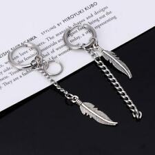 Korean Idols KPOP Bangtan Boys Album Feather Mismatch Tassel Chain Earrings