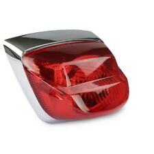 Rear Light In Chrome Red with Test Symbol for Piaggio Vespa LX LXV S 2T 4T