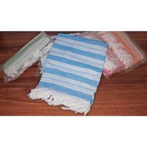 Turkish Hammam Peshtemal Pestemal %100 Cotton Bath Towel Spa Gym Yoga Beach