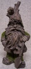 "Garden Accent Extra Large Freestanding Tree Gnome NEW 12"" tall with shovel"