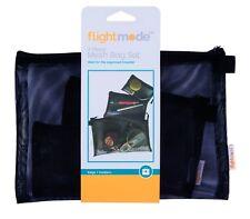 3pcs Mesh Bag Travel Cosmetic Accessory Personal Carry Storage Case Organizer AU