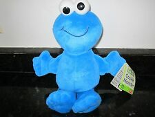 """Fisher Price Cookie Monster Plush Stuffed Sesame Street Workshop Doll 10"""" Toy"""