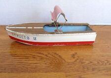 Barco de juguete vintage