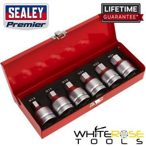 "Sealey Premier Hex Socket Bit Set 6pc 3/4""Sq Drive"