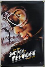 SKY CAPTAIN AND THE WORLD OF TOMORROW DS ROLLED ADV ORIG 1SH MOVIE POSTER 2004