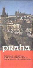 Stadtplan, Praha, Prag, 1990