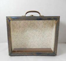 Vintage Room Box W Secret Roombox Panel Artisan Dollhouse Miniature 1:12