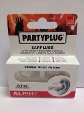 ALPINE PARTYPLUG auricolari personalizzati con musica speciale filters-cheapest PREZZO SU EBAY