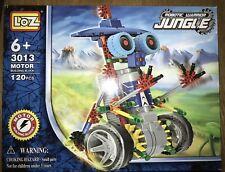 New Robot Warrior Jungle Kids Toy Building Blocks Moving 120 Piece #3013 Box USA