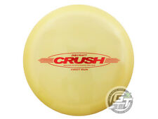 NEW Discraft Elite Z Crush 174g Yellow First Run Barstamp RARE Driver Golf Disc