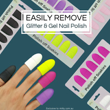 Gel Nail Polish Remover - Soakies by Mitty (Black Night)