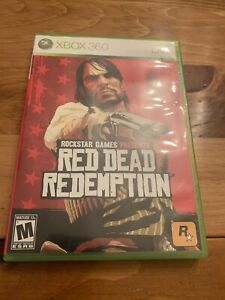 Red Dead Redemption Microsoft Xbox 360 Video Game With Manual
