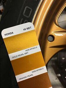 Peinture carrosserie jantes Auto/moto: base à vernir Honda 1000 CBR GOLD PEARL