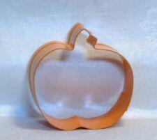 "Pumpkin 3.5 /"" Metal Cookie Cutter,Silver Tone,Autumn,Harvest,Thanksgiving,C//K"