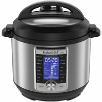 Instant Pot Ultra | 6 Qt 10-in-1 Multi-use Programmable Pressure Slow Cooker NEW