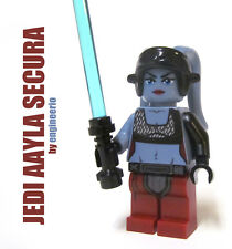 LEGO Custom Aayla Secura Star Wars Minifigure clone wars trooper jedi 8098 75182