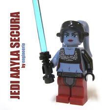 LEGO Custom -- Aayla Secura -- Star Wars Minifigure clone wars trooper jedi 8098