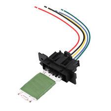 Heater Blower Motor Fan Resistor & Wiring Plug Harness For Fiat Punto Doblo Qubo