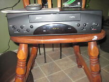 ZENITH VCR Model VR4126 WITH Remote, Instruction Manual & 3 VHS Tapes TESTED!