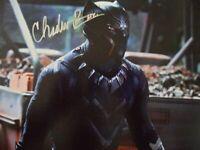 """Chadwick Boseman """"Best Actor'"""" 8x10 Signed Photo Auto"""