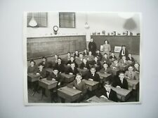 Vintage 8 x 10  Groupe Ecole ND de Lourde Verdun Montreal Quebec Canada 1949-50