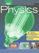 Holt Physics: Student Edition 2009, HOLT, RINEHART AND WINSTON, Good Book