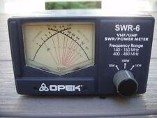 OPEK Model SWR-6 VHF/UHF SWR/Power Meter
