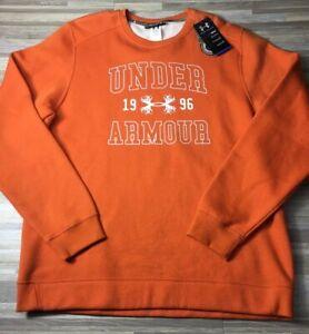 $45 Under Armour Established Crew Men's XL  Fleece Hunting Sweatshirt 1248193