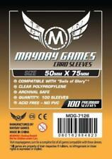 100 Bustine protettive Sleeves Mayday Games 50x75 mm Buste Giochi tavolo