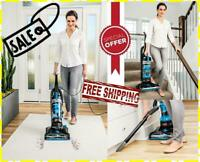 BISSELL PowerForce Blue Helix Bagless Upright Vacuum Cleaner Lightweight, NEW