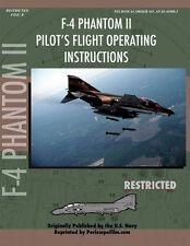 F-4 Phantom II Pilot's Flight Operating Manual Paperback