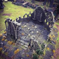Gothic Abby  28mm Tabletop Games Dwarven Forge D&D Terrain Wargaming Warhammer