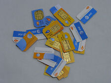 20X At&T Sim Cards iPhone 3G 3Gs 4 4S 5 5S 6 Activation Screen Bypass Micro Nano