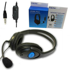 Auriculares Deluxe Gaming Headset+Mic+Control de volumen para PS4/X-one controla