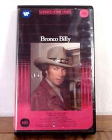 Clint Eastwood Bronco Billy VHS Movie Film Big Box Clamshell 1981