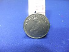 vtg badge coin belgium 1923 bon pour 2 francs brooch bonnetain belgique unusual