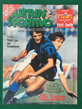GUERIN SPORTIVO 1979 n 38 , ALTOBELLI INTER + Poster PATTI SMITH CALCIOITALIA