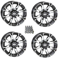 "Honda 300 350 400 420 450 500 Rancher foreman rubicon 12"" STI HD3 wheel set rims"